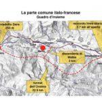 Il tracciato della Tav in Val di Susa